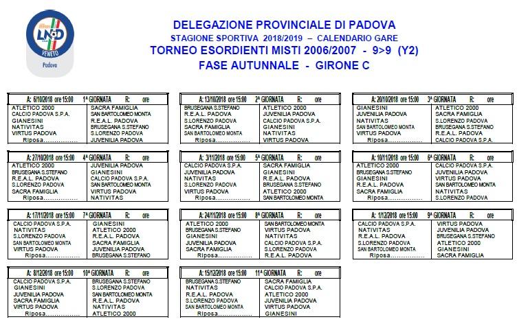 Calendario Calcio Padova.San Lorenzo Padova Calcio Via L Perosi 59 A 35132 Padova